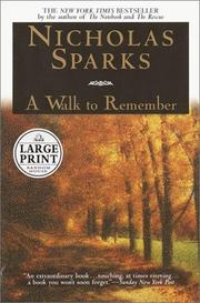 Cover of: A walk to remember