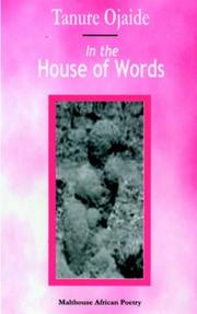 Cover of: In the House of Words
