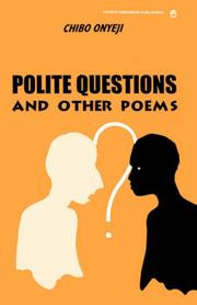 Cover of: Polite questions and other poems