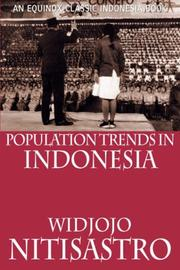 Cover of: Population Trends in Indonesia