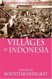 Cover of: Villages in Indonesia
