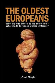 Cover of: The Oldest Europeans | J. F. del Giorgio