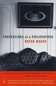 Cover of: Confessions of a philosopher | Bryan Magee