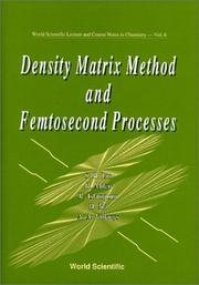 Density matrix method and femtosecond processes by
