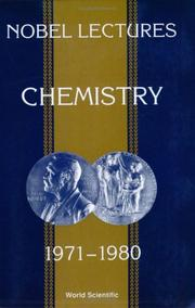 Cover of: Chemistry, 1971-1980 |