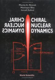 Cover of: Chiral nuclear dynamics