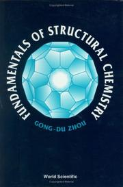 Cover of: Fundamentals of structural chemistry
