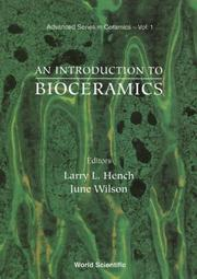 Cover of: An Introduction to bioceramics |