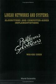 Cover of: Linear Networks and Systems: Algorithms and Computer-Aided Implementations: Problems and Solutions