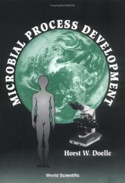 Cover of: Microbial process development