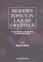 Cover of: Modern topics in liquid crystals |