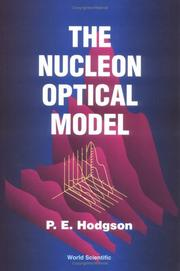 Cover of: The nucleon optical model