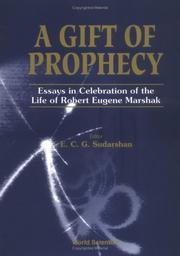 Cover of: A gift of prophecy