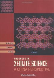Cover of: Progress in zeolite science | R. R. Xu