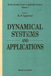 Cover of: Dynamical systems and applications |