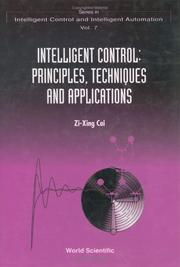 Cover of: Intelligent control | Zi-Xing Cai