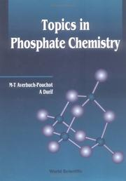 Cover of: Topics in phosphate chemistry