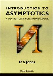 Introduction to Asymptotics by D. S. Jones