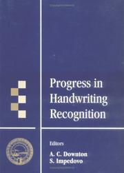 Cover of: Progress in Handwriting Recognition |