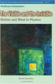 Cover of: The visible and the invisible