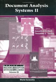 Cover of: Document analysis systems II |