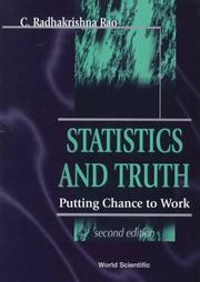 Cover of: Statistics and truth | Rao, C. Radhakrishna