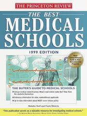 Cover of: The Best Medical Schools