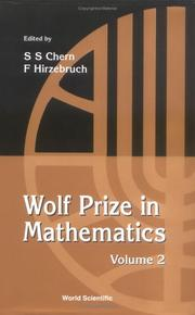 Cover of: Wolf Prize in Mathematics |
