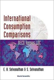 Cover of: International consumption comparisons