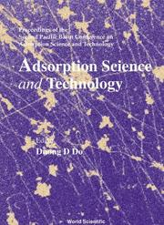 Cover of: Adsorption Science and Technology | Duong D. Do