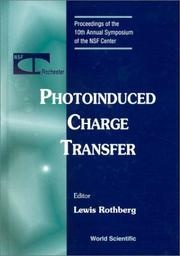 Cover of: Photoinduced Charge Transfer | Lewis Rothberg