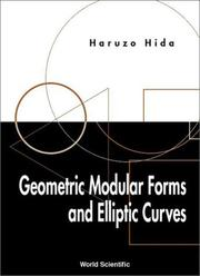 Cover of: Geometric Modular Forms and Elliptic Curves