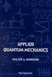 Cover of: Applied Quantum Mechanics