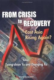 Cover of: From Crisis to Recovery |
