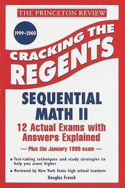 Cover of: Princeton Review: Cracking the Regents