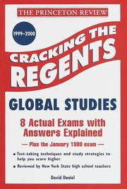 Cover of: Cracking the Regents | Princeton Review