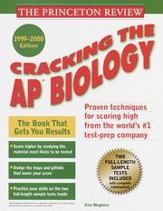 Cover of: Princeton Review: Cracking the AP
