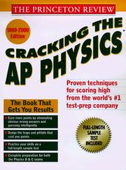 Cover of: Cracking the AP