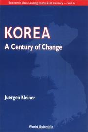 Cover of: Korea, a century of change