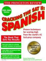 Cover of: Cracking the SAT II