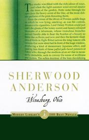 Cover of: Winesburg, Ohio (Modern Library Classics) | Sherwood Anderson