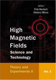 Cover of: High Magnetic Fields |