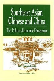 Cover of: Southeast Asian Chinese & China | Leo Suryadinata