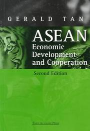 ASEAN economic development and cooperation by Gerald Tan