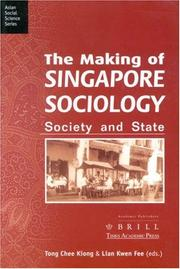 Cover of: The making of Singapore sociology |