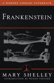 Cover of: Frankenstein, or, The modern Prometheus | Mary Shelley