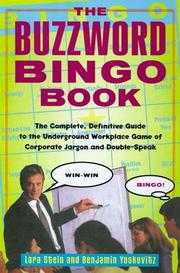 Cover of: The Buzzword Bingo Book