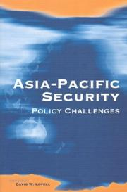 Cover of: Asia-Pacific security |