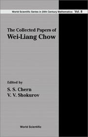 Cover of: The collected papers of Wei-Liang Chow