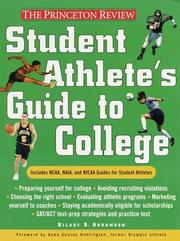 Cover of: Student Athlete's Guide to College